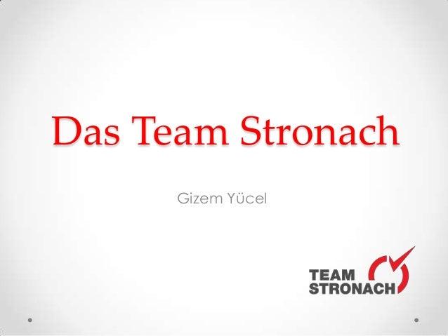 Das Team StronachGizem Yücel