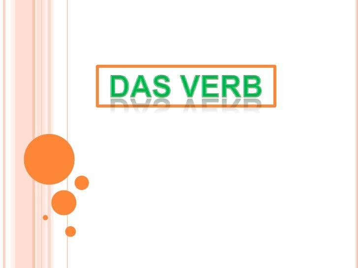 DAS VERB<br />