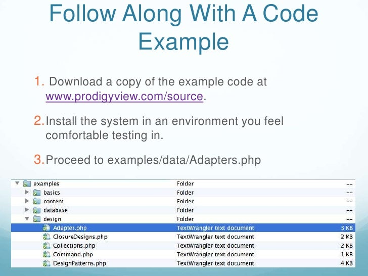 Adapter Design Pattern In Php