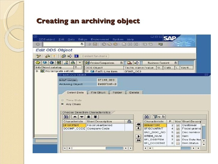 sap data archiving Selling sap data archiving to your business every transaction executed in sap, every output generated, every document saved creates data companies having large volumes of data typically have an advantage over the ones where the right data is not available but every data has an associated time.