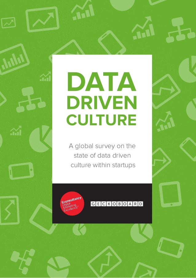 A global survey on the state of data drivenculture within startups