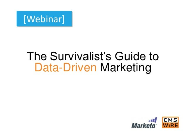 The Survivalist's Guide to Data-Driven Marketing