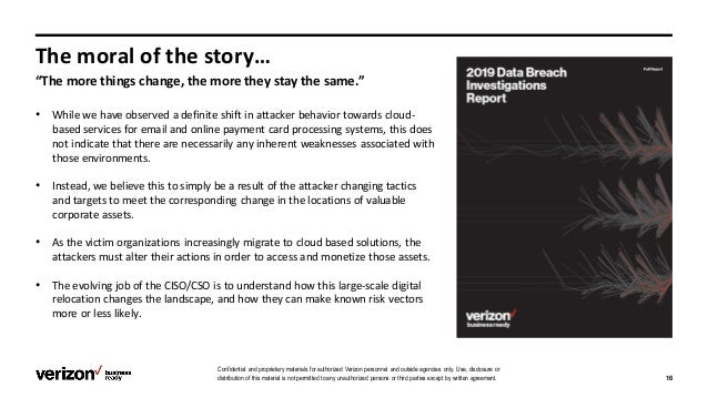 Data-driven storytelling and security stakeholder engagement