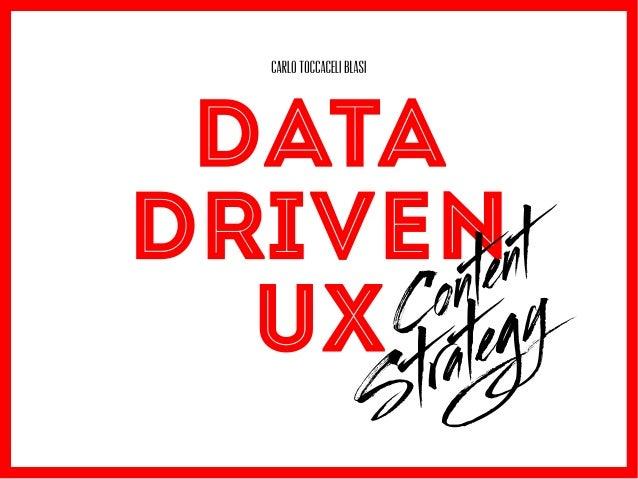 La data visualization come strumento di supporto alla content strategy