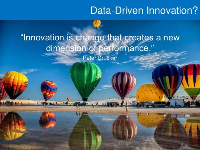 Data-Driven Innovation: 3 Ways to Create a New Level of Performance in Your Organisation Slide 3