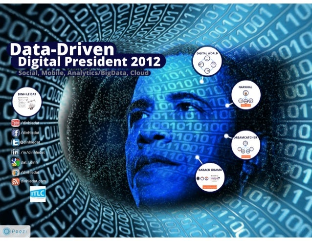 BigData, Data-Driven Marketing and Obama Presidential Campaign 2012