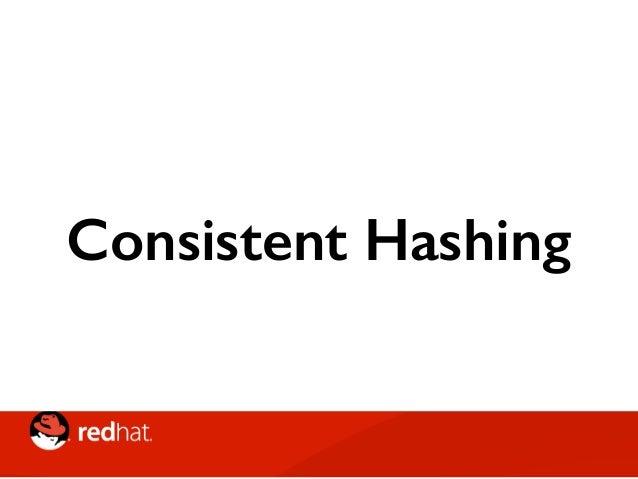 """Consistent Hashing • Hashing Wheel: una """"ruota"""" matematica sulla quale vengono effettuati gli hash delle K (chiavi) • Ma a..."""