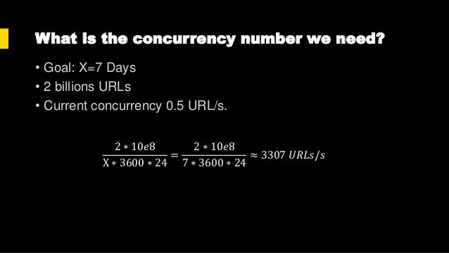 How to increase concurrency? • Optimize code performance • Increase hardware resource (CPU, RAM, Disk, Network…) aka Scale...