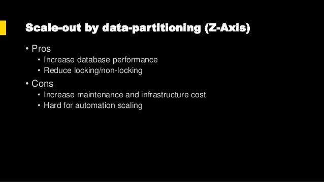 Summary • Skip the code optimization approach • Skip the scale-up approach • Focus on scale-out approaches • We can increa...