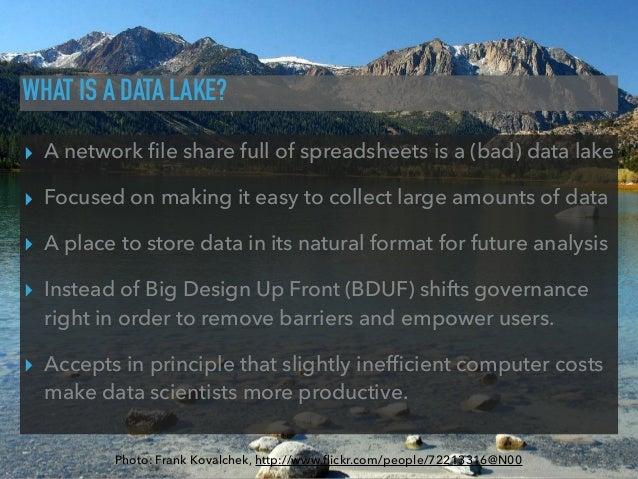 Data lakes on Amazon Web Services Slide 3