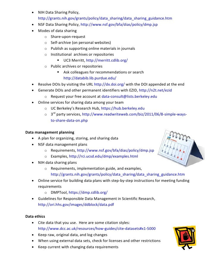 Amazing Data Management Plan Template Nsf Ornament - Administrative ...
