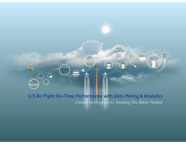 U.S Air Flight On-Time Performance with Data Mining & Analytics