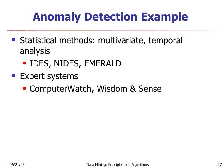 Data mining and intrusion detection 27 fandeluxe Gallery