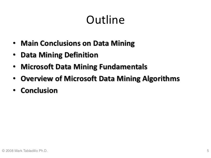 Data Mining With Excel 2007 And SQL Server 2008