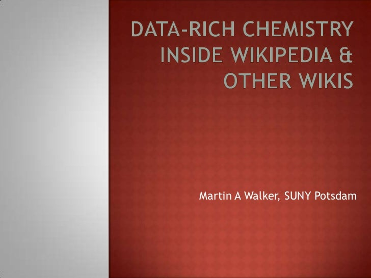 Martin A Walker, SUNY Potsdam