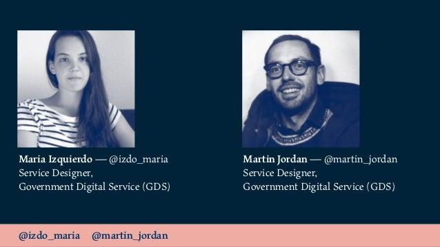 Data & Services / Service Lab London Slide 3