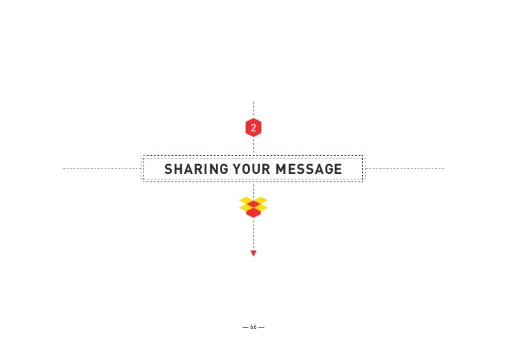 2SHARING YOUR MESSAGE         66