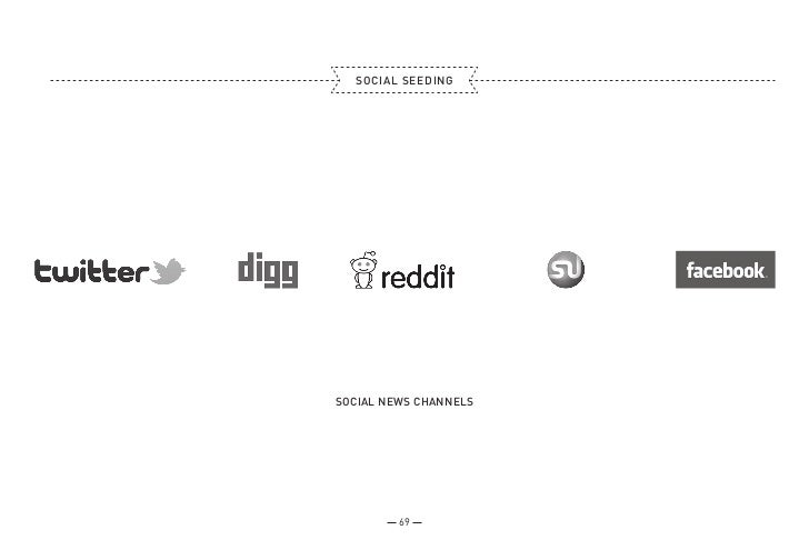 SOCIAL SEEDINGSOCIAL NEWS CHANNELS         69