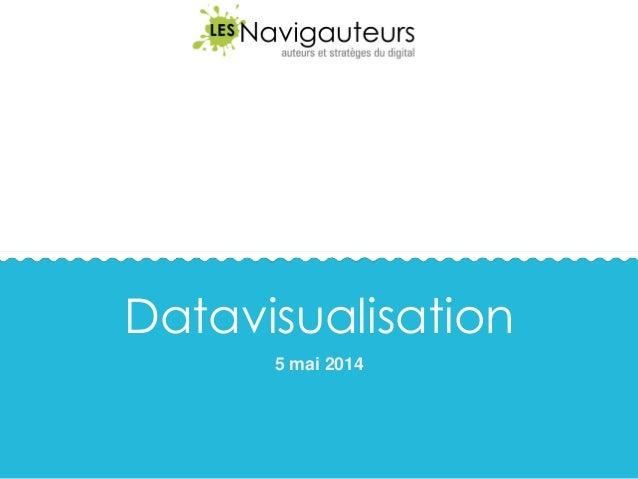 Datavisualisation 5 mai 2014