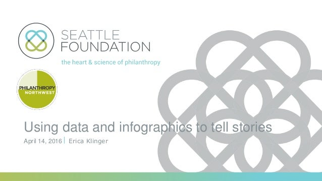 Using data and infographics to tell stories Erica KlingerApril 14, 2016