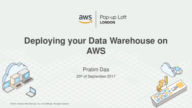 © 2016, Amazon Web Services, Inc. or its Affiliates. All rights reserved. Pratim Das 20th of September 2017 Deploying your...