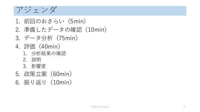 データアカデミー・エッセンス(東京)2 Slide 2