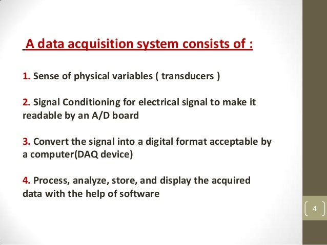Data Acquisition System Icon : Data acquisition system