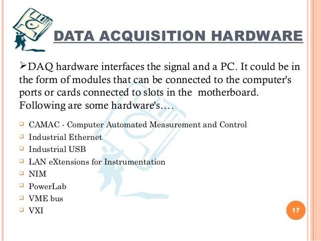 Das Data Acquisition System : Data acquisition system das