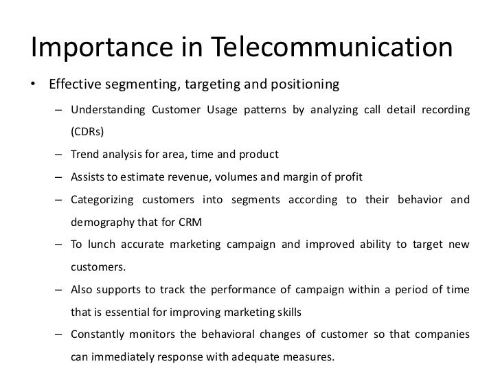 presentation on use of bi in telecommunications industry, Powerpoint templates
