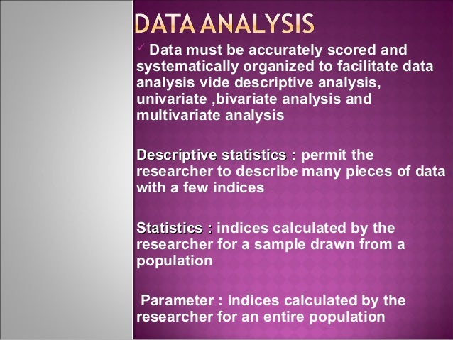 Data Analysis Market Research