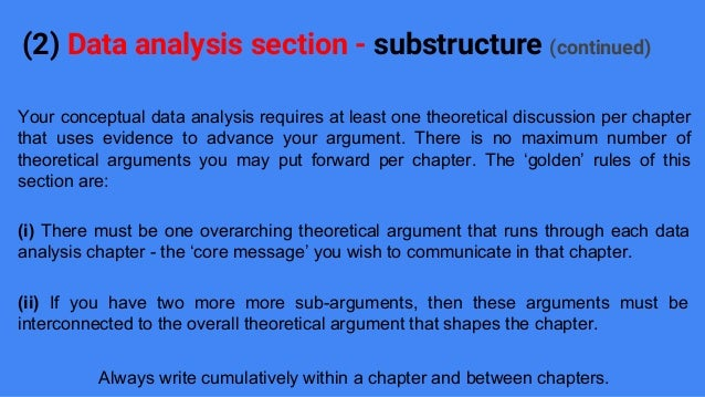 how to write analysis section of dissertation When you are started the dissertation analysis chapter, you need to follow below  explained portions a review comprising a brief on the reason behind the.