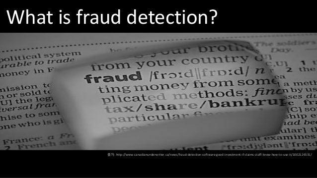 Data analysis for game fraud detection Slide 2