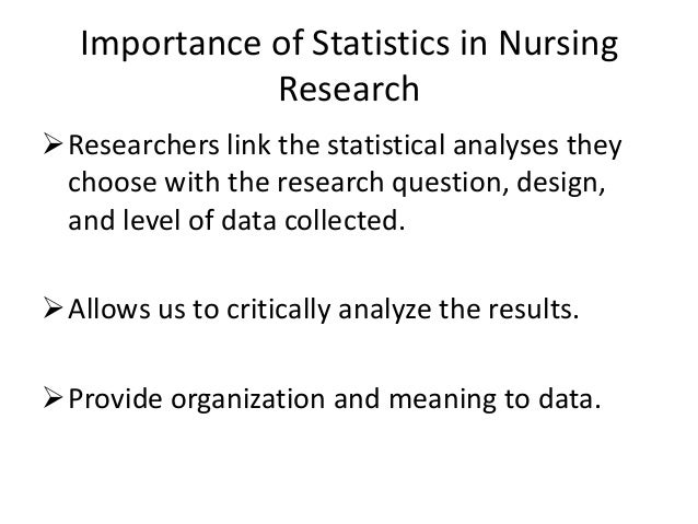 Uses of Statistical Information Essay