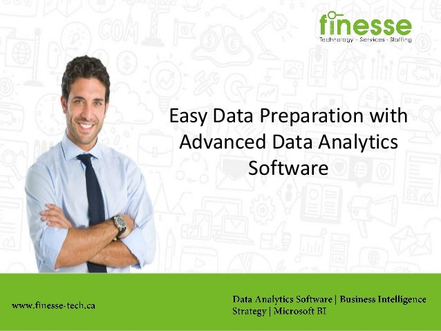 Easy Data Preparation with Advanced Data Analytics Software