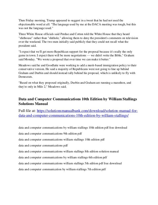 William Stallings Data And Computer Communications 7th Edition Pdf