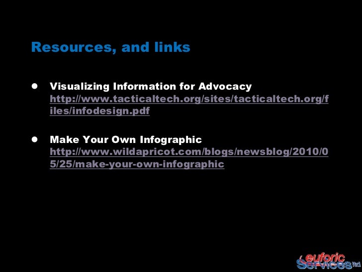 Data and information visualization tools 2012