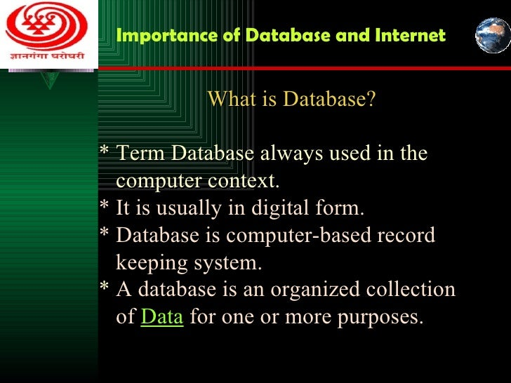 what is a database Global database on child growth and malnutrition - access the who global database.