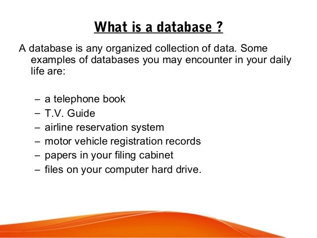 Database Concept By Luke Lonergan
