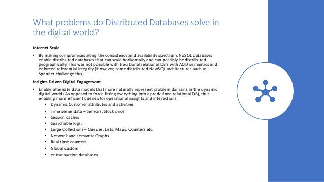 Evolution of Distributed Database Technologies in the Digital era