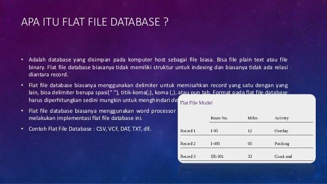 APA ITU RELATIONAL DATABASE ? • Adalah database yang telah memiliki relasi antar model yang terstruktur pada datanya, bias...