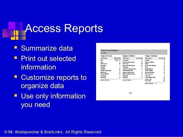 what type of database is microsoft access