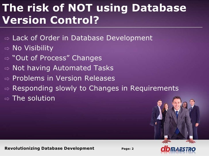 Database change management Slide 2
