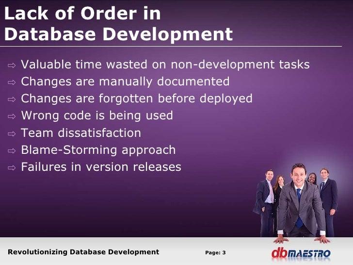 Database change management Slide 3