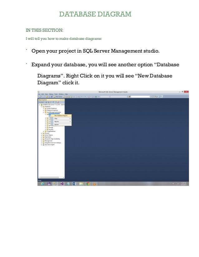 Database diagram tutorial sql server 2012 database diagram ccuart Image collections