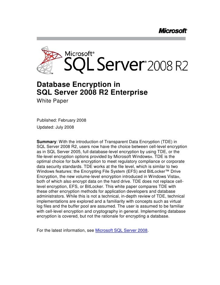 telecharger cours sql server 2008 pdf