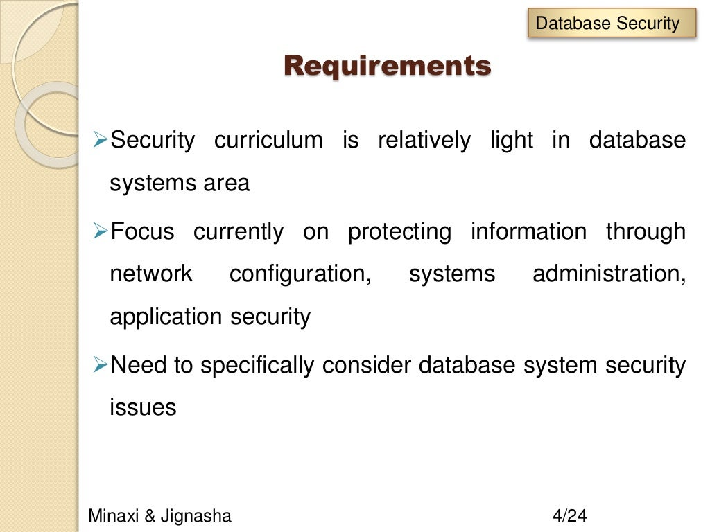 Database Security And Integrity Dbms Slide 4 1024