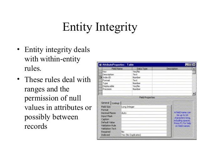 Database intro