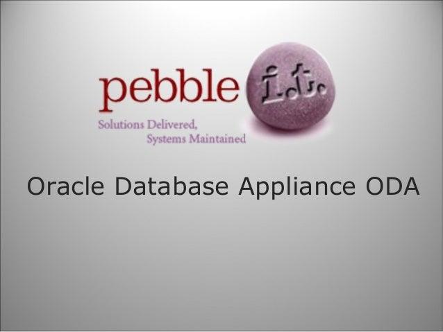 Oracle Database Appliance ODA