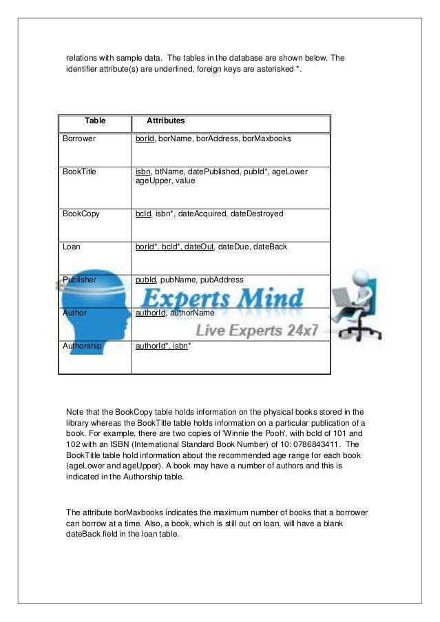 Dbms homework help