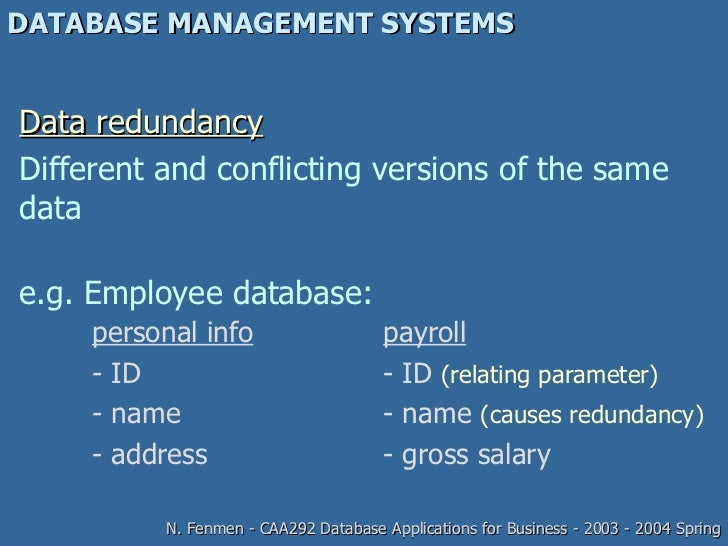 developing a database management system presentation Presentation outline • what is a concept of operations • lessons learned in developing and using a concept of operations in transportation management systems.